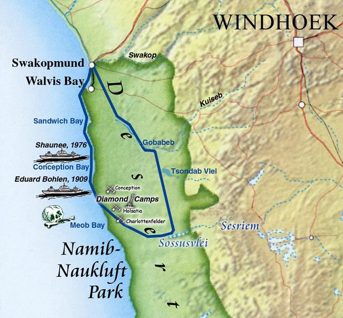Namib Wüste Karte.Rundflüge Namibia Fliegen über Afrika Mit Bwana Tucke Tuck Bwana