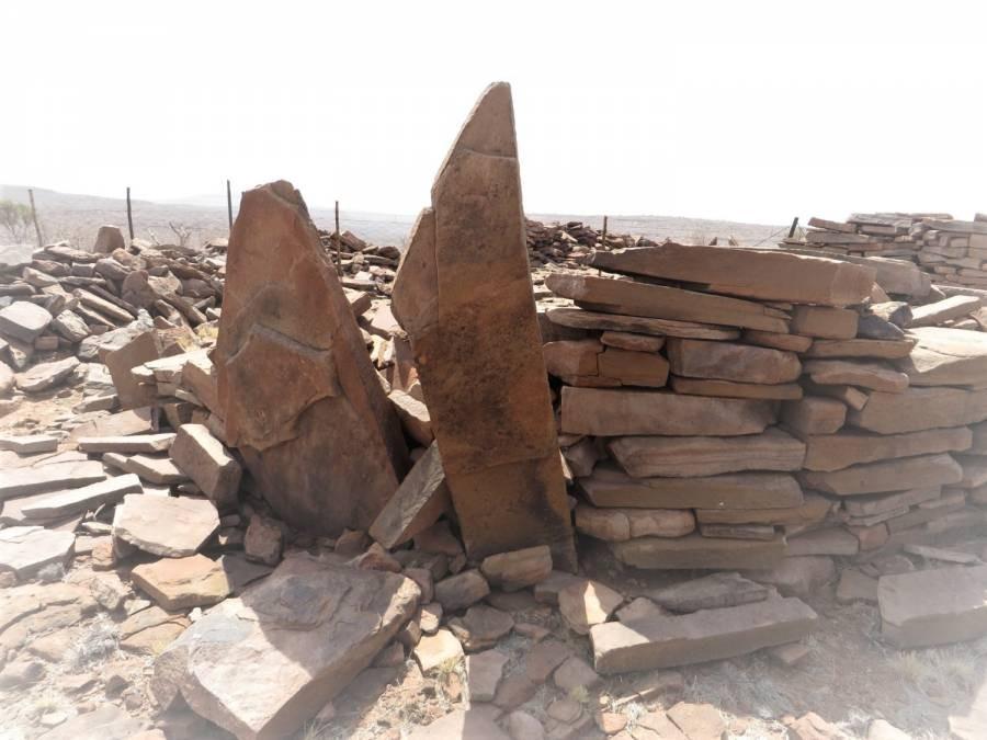 Ruinen von IIKhauxa!nas