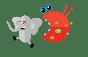 Virus-Schreck