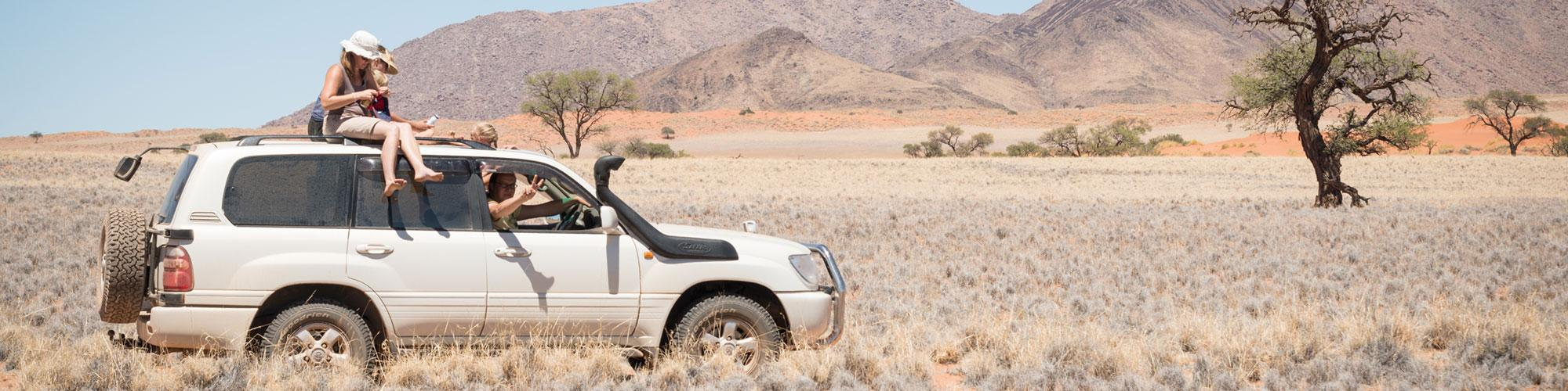 Tanken in Namibia