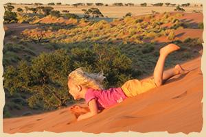 Kindersafaris in Namibia